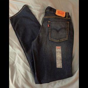 LEVI's 511 Girls SZ 18 Stretch Dk wash Jeans NWT